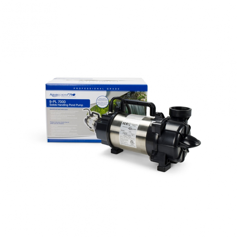 9-PL 7000 Solids-Handling Pond Pump
