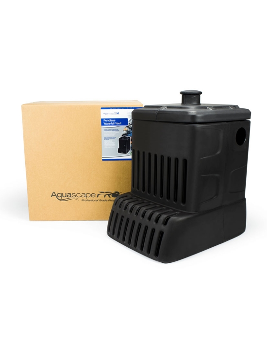 Superieur Submersible Pond Filter · Aquascape Pondless Waterfall Vault Pump