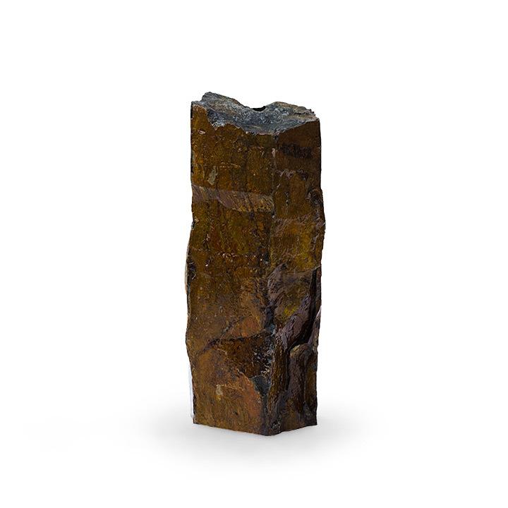 """Natural Mongolian Basalt Column - 24"""""""
