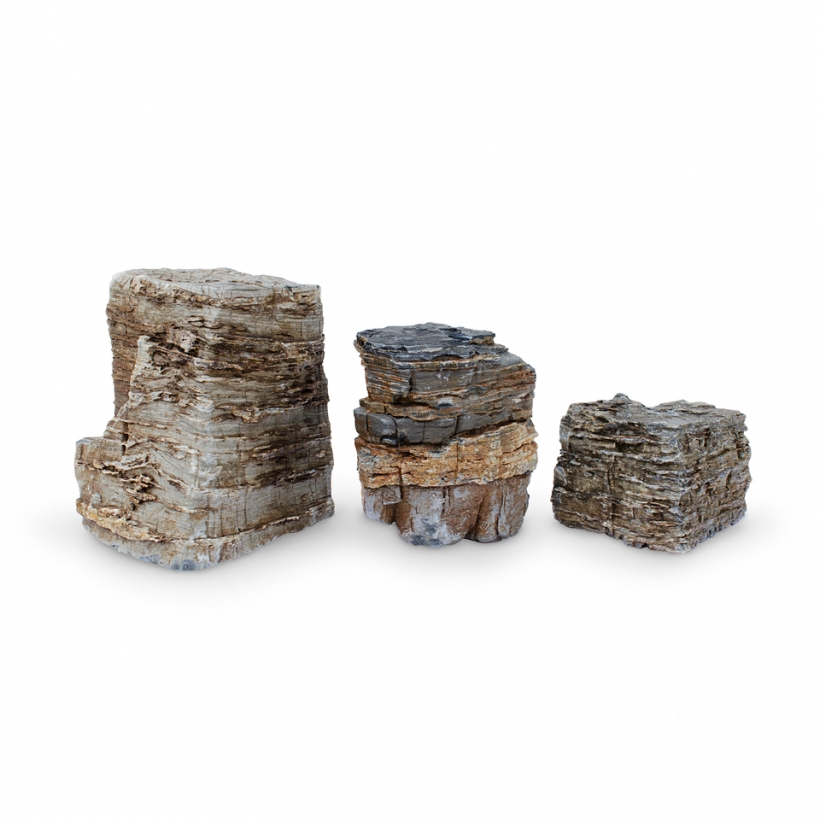 Pagoda Fountain Rocks Set of 3