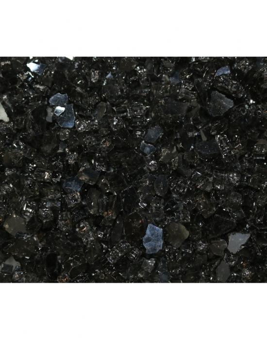 1/4u2033 Reflective Black Fire Glass