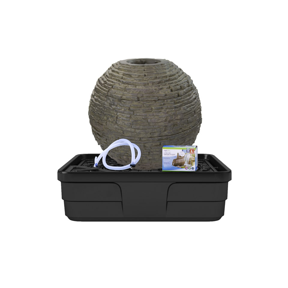 Patio Fountain Kits | Urn Fountains, Basalt & Pagoda Rock ...