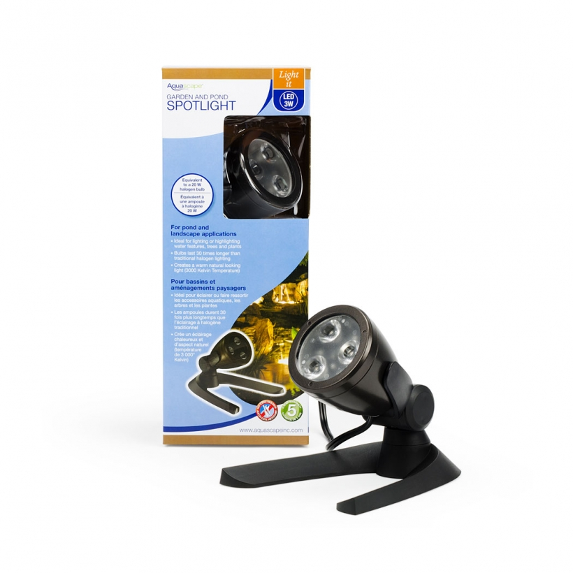 84033 Garden and Pond 3-Watt LED Spotlight