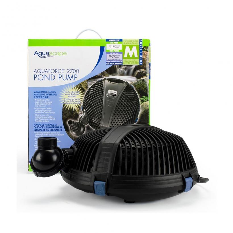 AquaForce 2700 Solids Handling Pond Pump