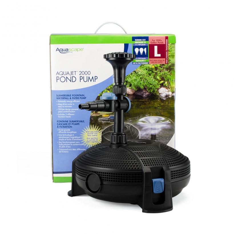 AquaJet 2000 Pond Pump