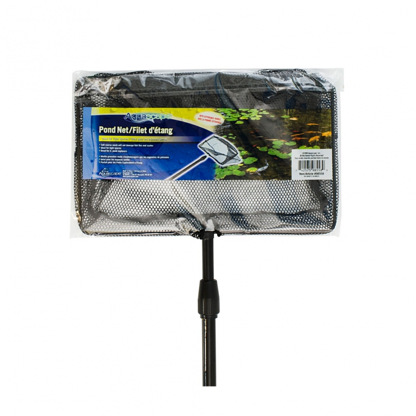 Pond Net with Extendable Handle -