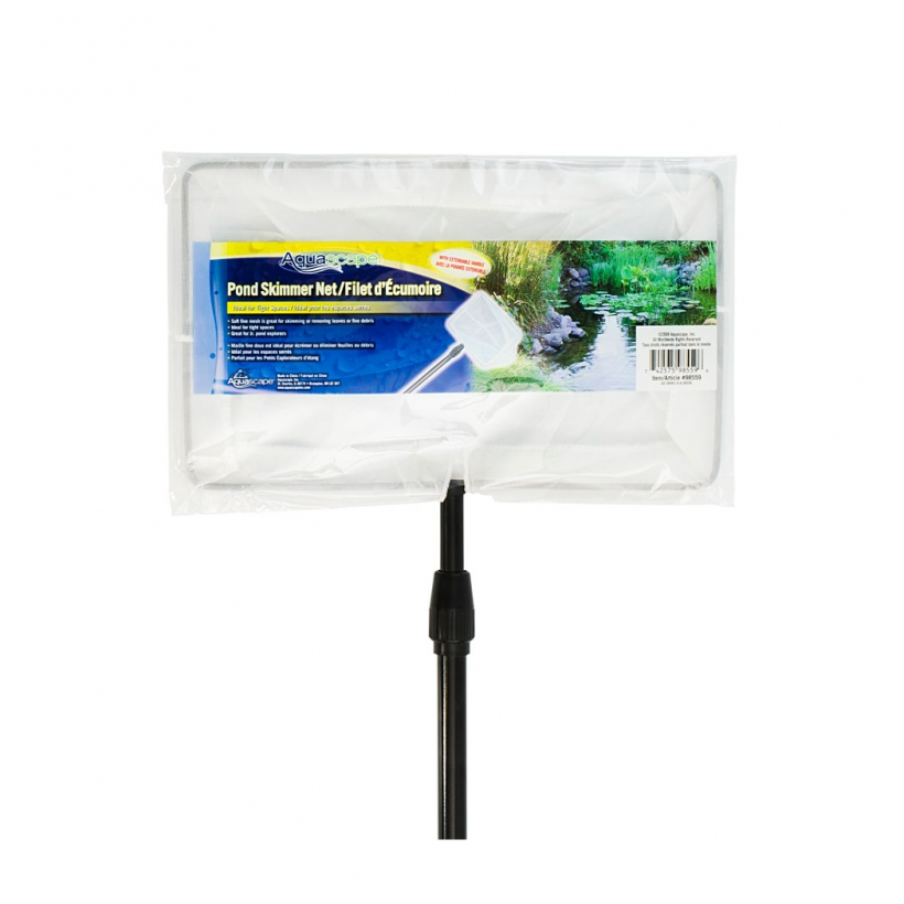 Pond Skimmer Net with Extendable Handle -
