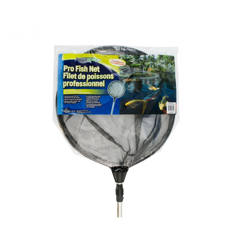 Professional Fish Net with Extendable Handle -