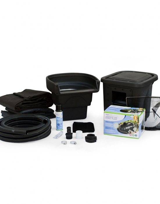 Diy backyard pond kits aquascape inc for Fish pond kits