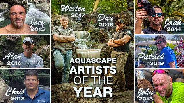 Aquascape Artists of the Year