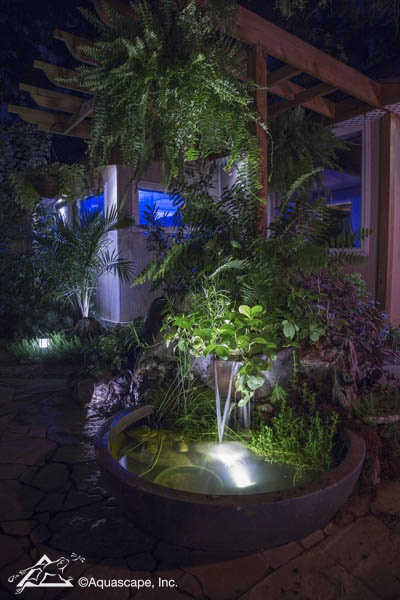 Decorative Water Feature with Lights