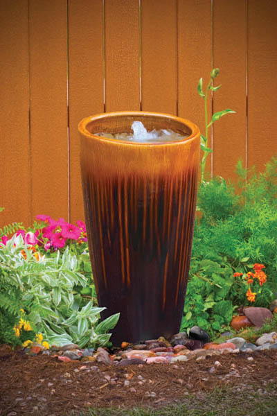 DIY Ceramic Urn Fountain