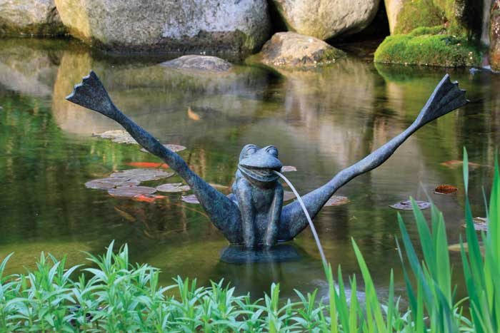 Crazy Legs Frog Spitter - Aquascape