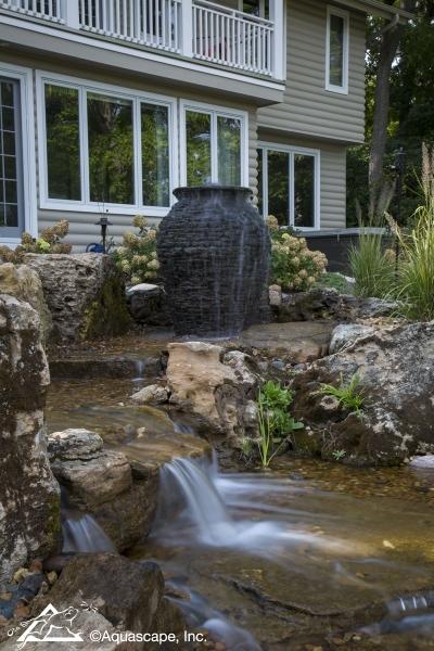 Aquascape Stacked Slate Urn Fountain