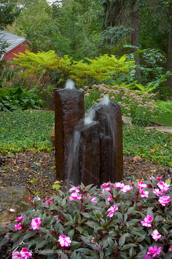 A fountainscape may be the perfect option for you when choosing the perfect water feature for your yard!