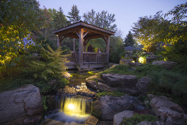 Garden and Pond Waterfall Lights