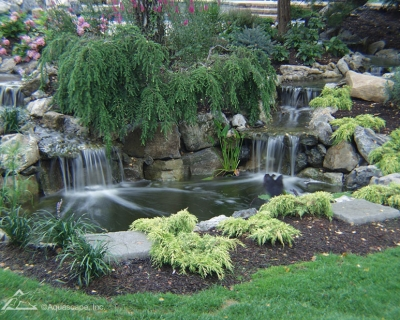 Landscape Edging Ideas For Water Features