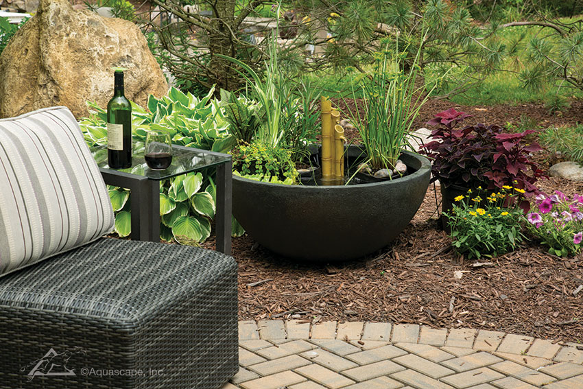 Patio Pond Green Slate