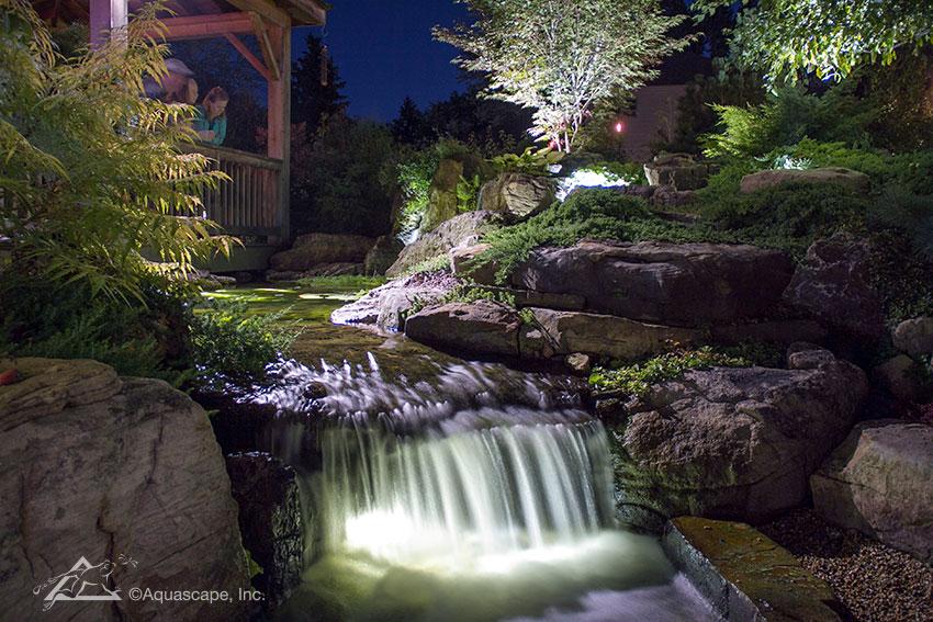 Pondless Waterfall Kit - Lighting