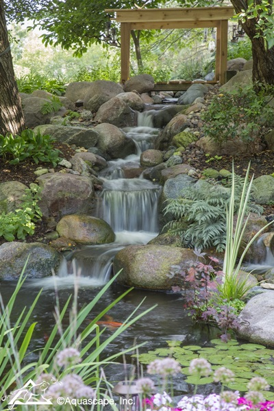 Aquascape Pond and Waterfall