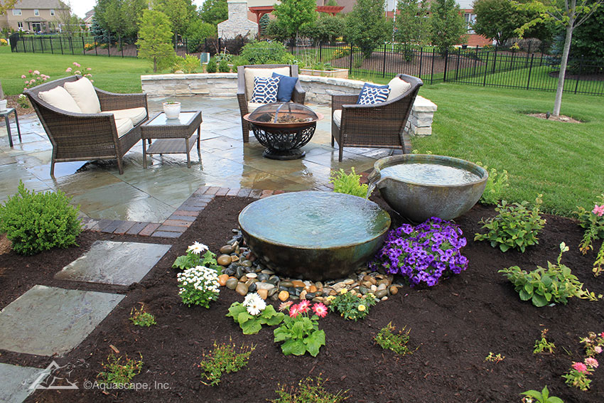 Spillway Bowl and Basin - Landscape Fountain Kit