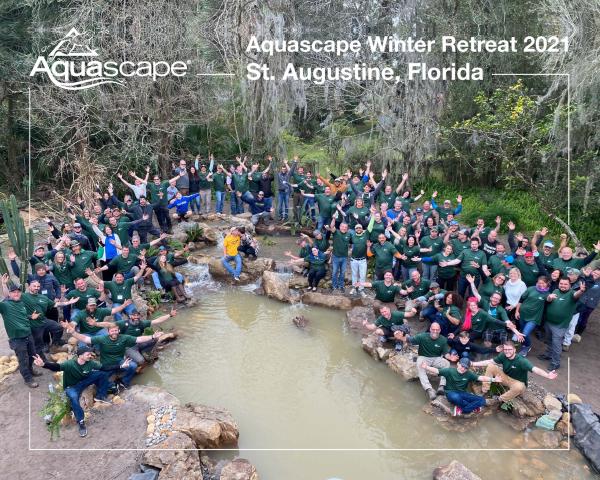 St. Augustine Winter Retreat Group Photo