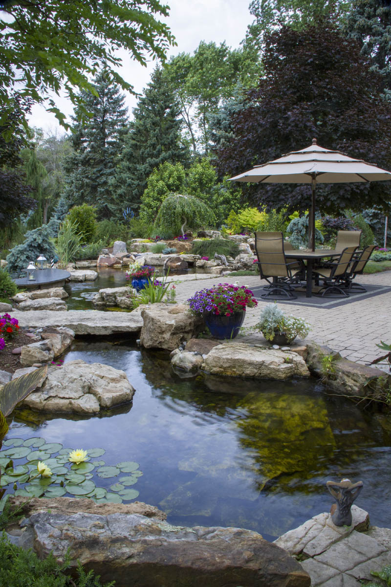 Ultimate Backyard Oasis in Arlington Hts, Illinois