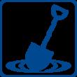 Water Construction Shovel