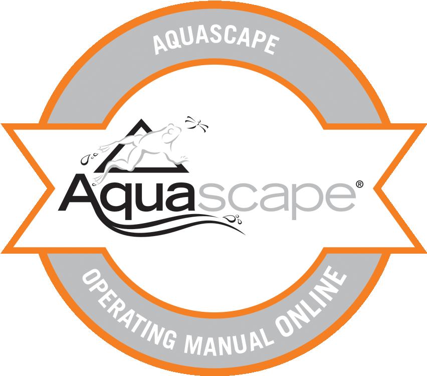 Aquascape Operating Manual Online