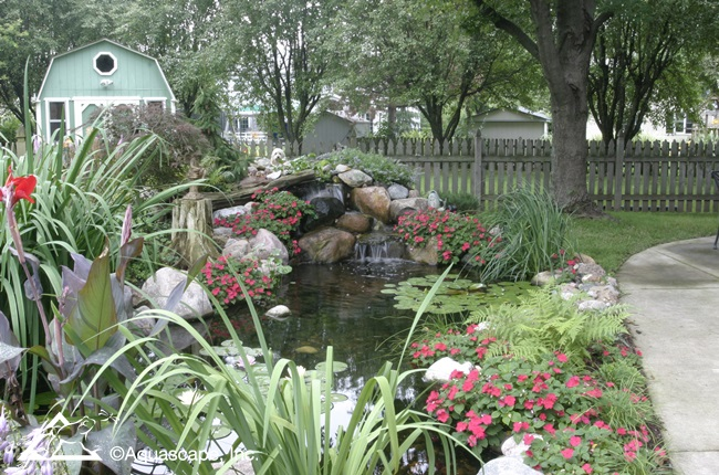 Backyard Transformations Before And After Aquascape Inc