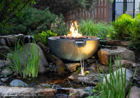 Water Features, Outdoor Fountains, Pond Pumps by Aquascape