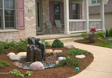 Fountain Rocks - Rainwater Collection