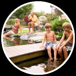 parallax yt Aquascape Ponds bubble