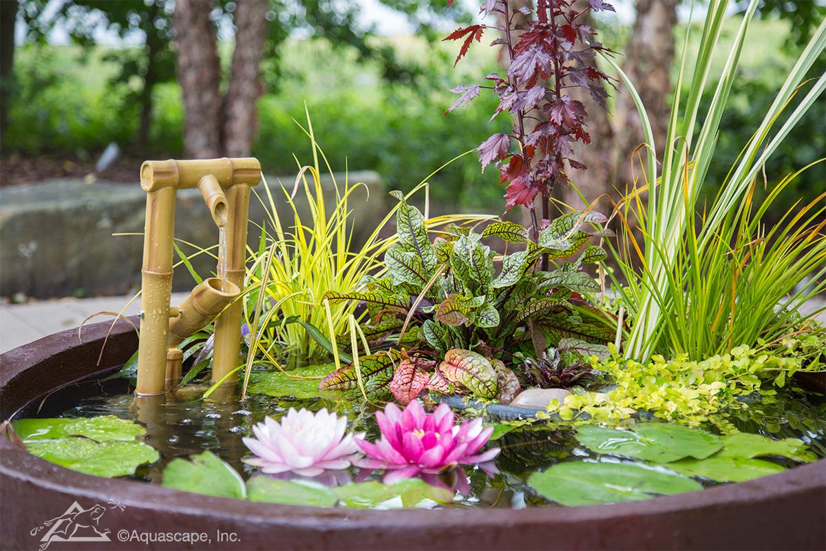 Deer Scarer Fountain Bamboo Fountain Spitter Pond Supplies