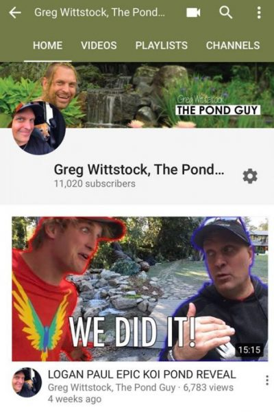 Logan Paul and Greg Wittstock