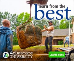 Aquascape University - online learning for pond contractors
