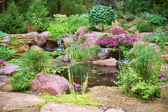 Backyard Garden Pond by Aquascape