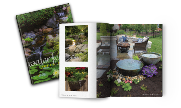 water gardens, water features dream book